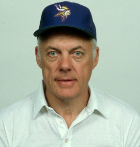 Bud Grant in coaching days.
