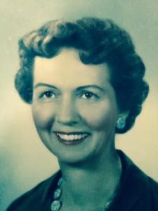 My mom, Virginia Shama