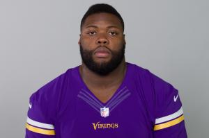 Linval Joseph (photo courtesy of Minnesota Vikings.)