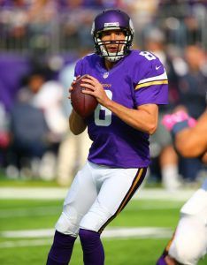 Sam Bradford (photo courtesy of Minnesota Vikings)
